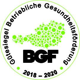 """Ausgezeichnet! im-plan-tat erhält """"Gütesiegel für Betriebliche Gesundheitsförderung (BGF)"""""""