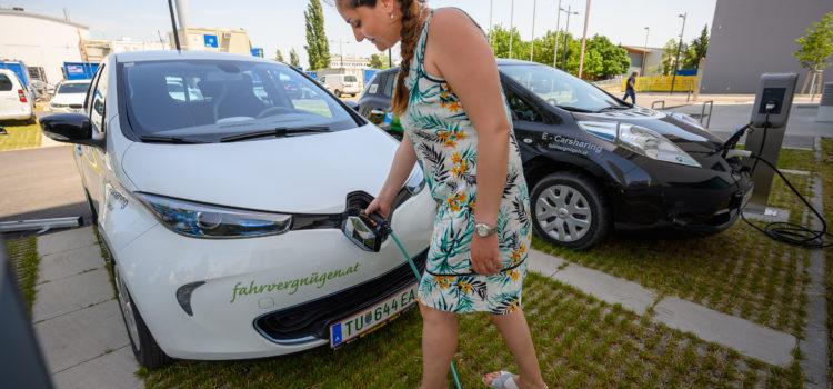 Forschungsprojekt SEAMLESS: E-Carsharing an der Technischen Universität Wien!